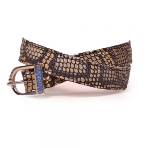 Bolgheri Brown Spur Strap