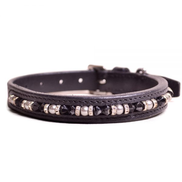 Joshua Jones Dog Collar Black Black