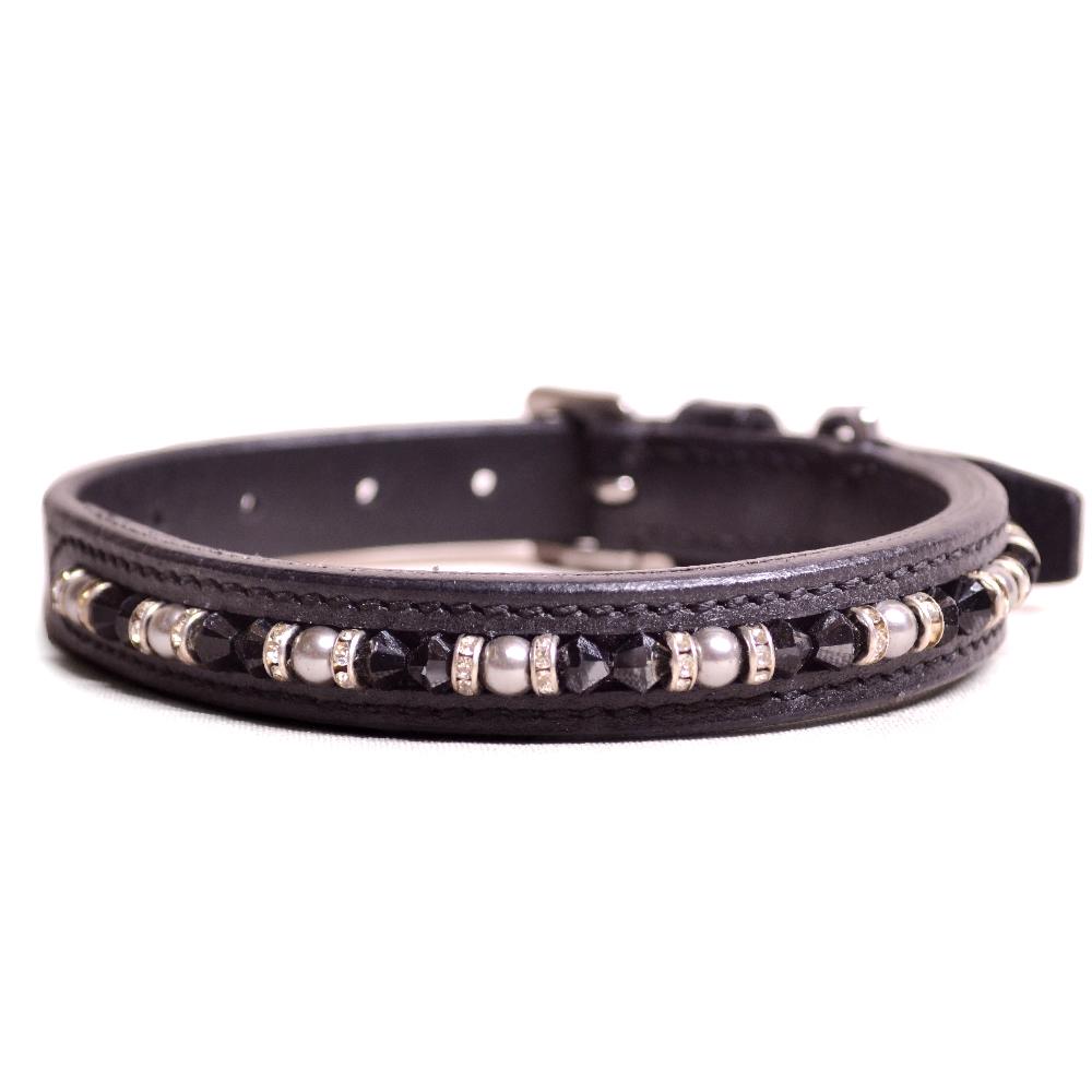 Joshua Jones Dog Collar Black Black