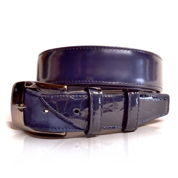 De Niro Belt Lucido Blue