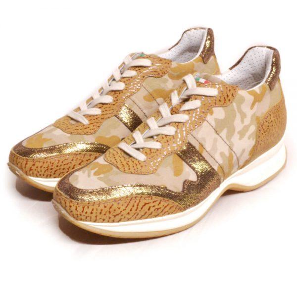 DonaDeo Sneaker Camo Sand