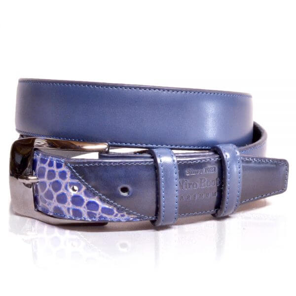 De Niro Belt Cro Blue