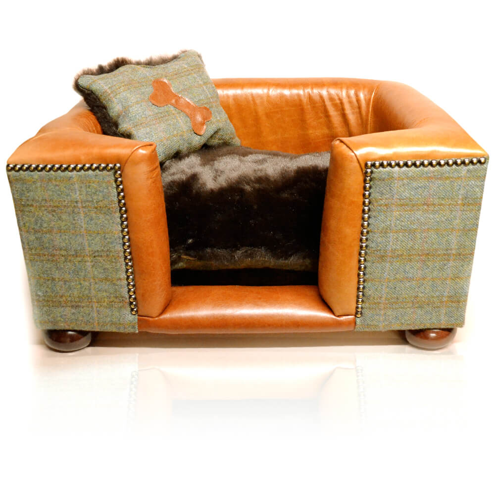 Leather Dog Bed Joshua Jones