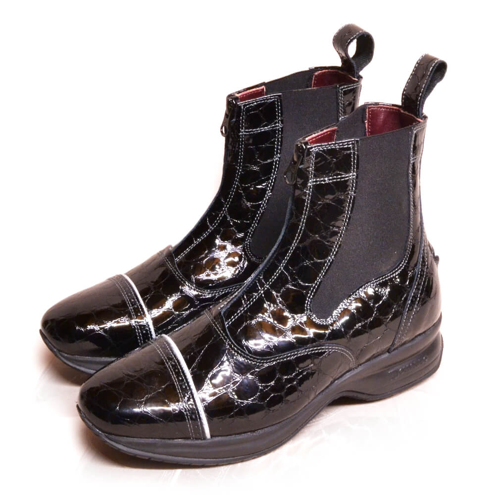 DonaDeo Yard Boots Lucido Black
