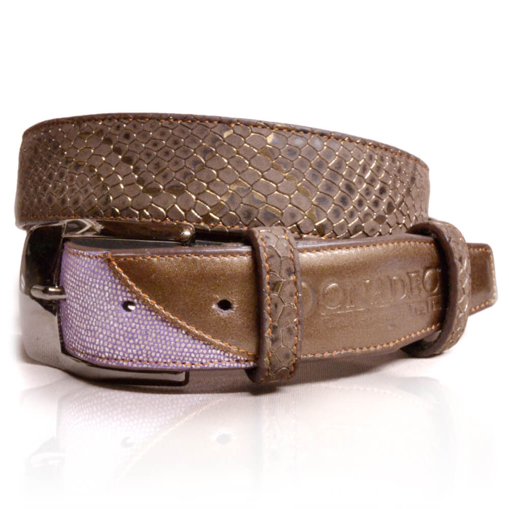 De Niro Belt Regal Brown