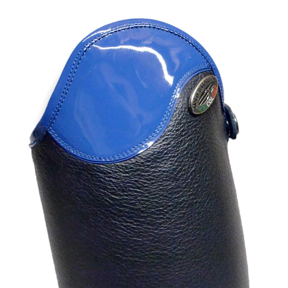 De Niro Salentino Patent Electric Blue