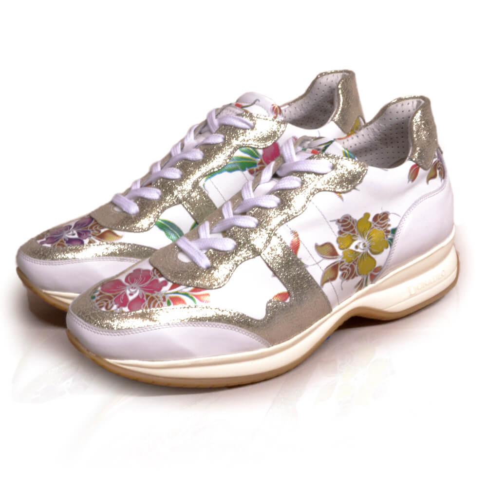 DonaDeo Sneaker White Lillium
