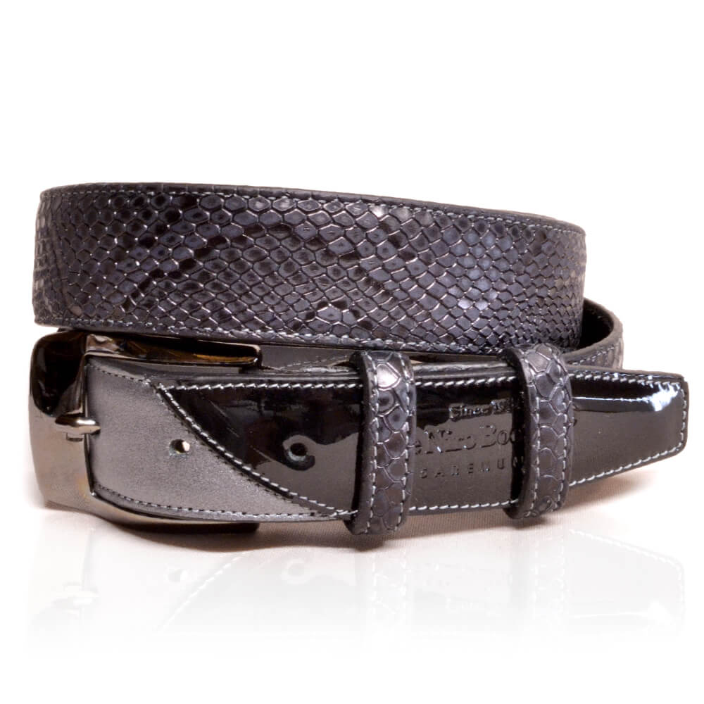 De Niro Belt Regal Black