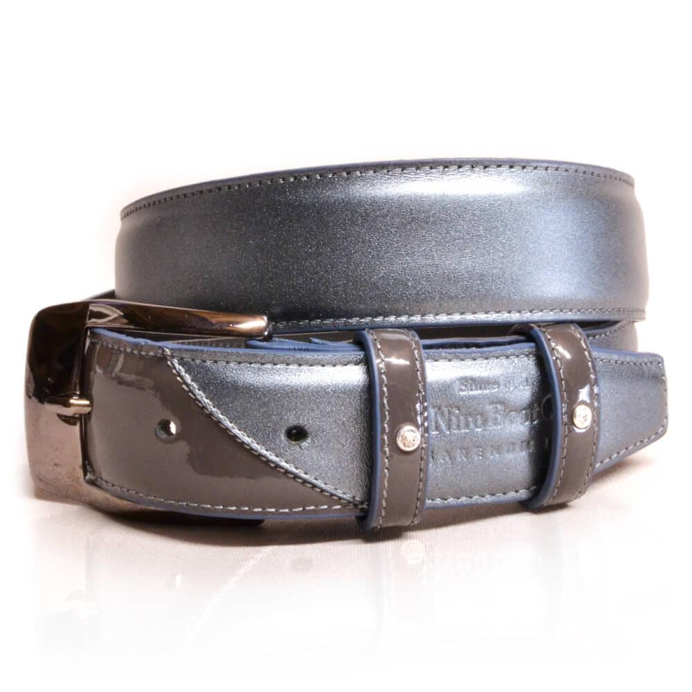 De Niro Belt Luxury Grey S/W