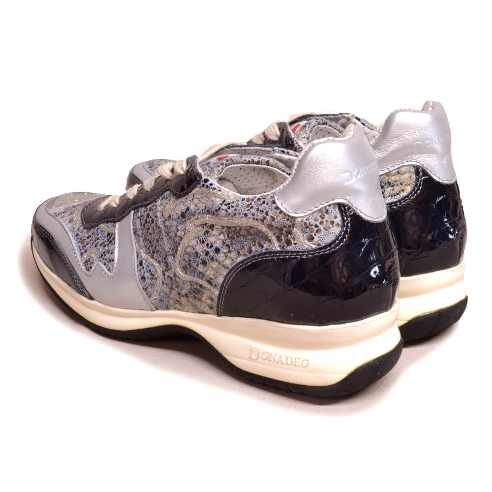 DonaDeo Sneaker Rivolo Aspro/Lucido Black