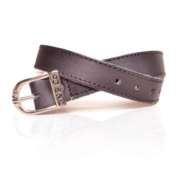Vitello Black Spur Straps