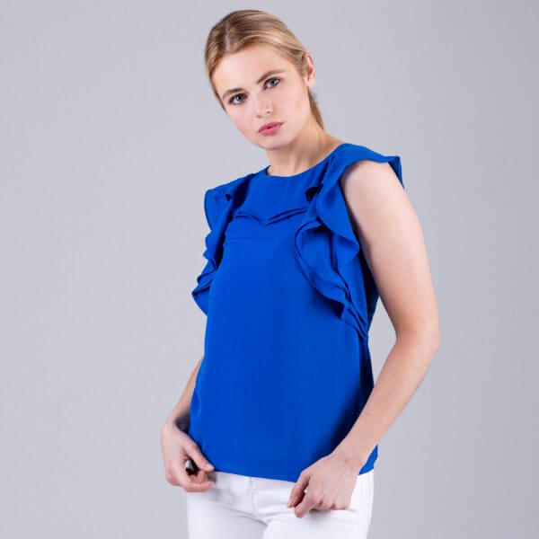 Barretti Sleeveless Blouse