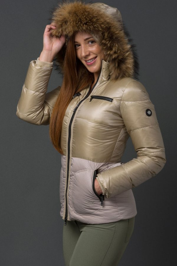 The Lucie Jacket - Buttercream