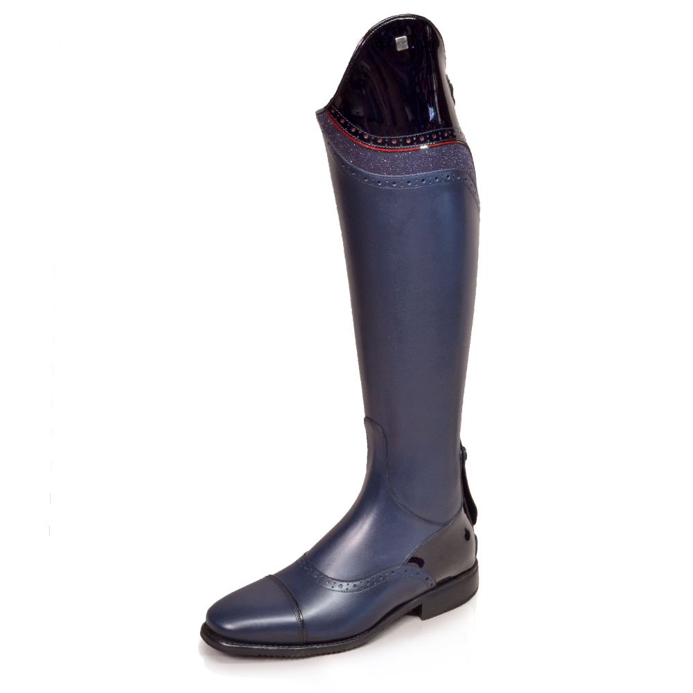 DonaDeo Lucia Navy Patent/Stardust