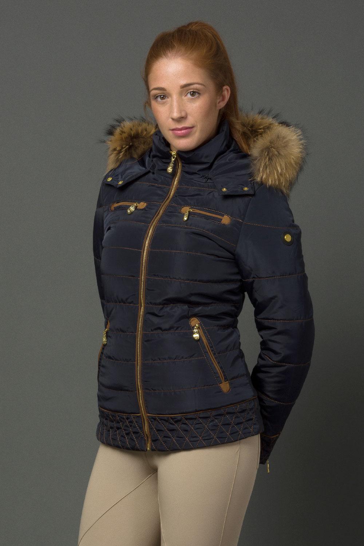 The Emily Coat - Midnight Blue
