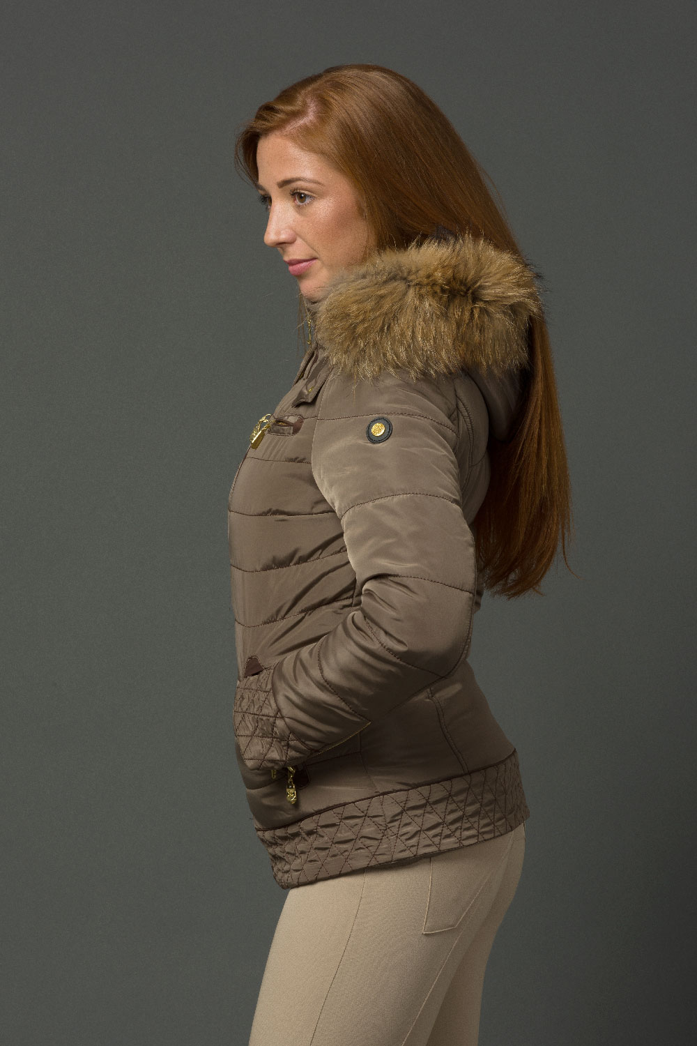 The Emily Coat - Mink