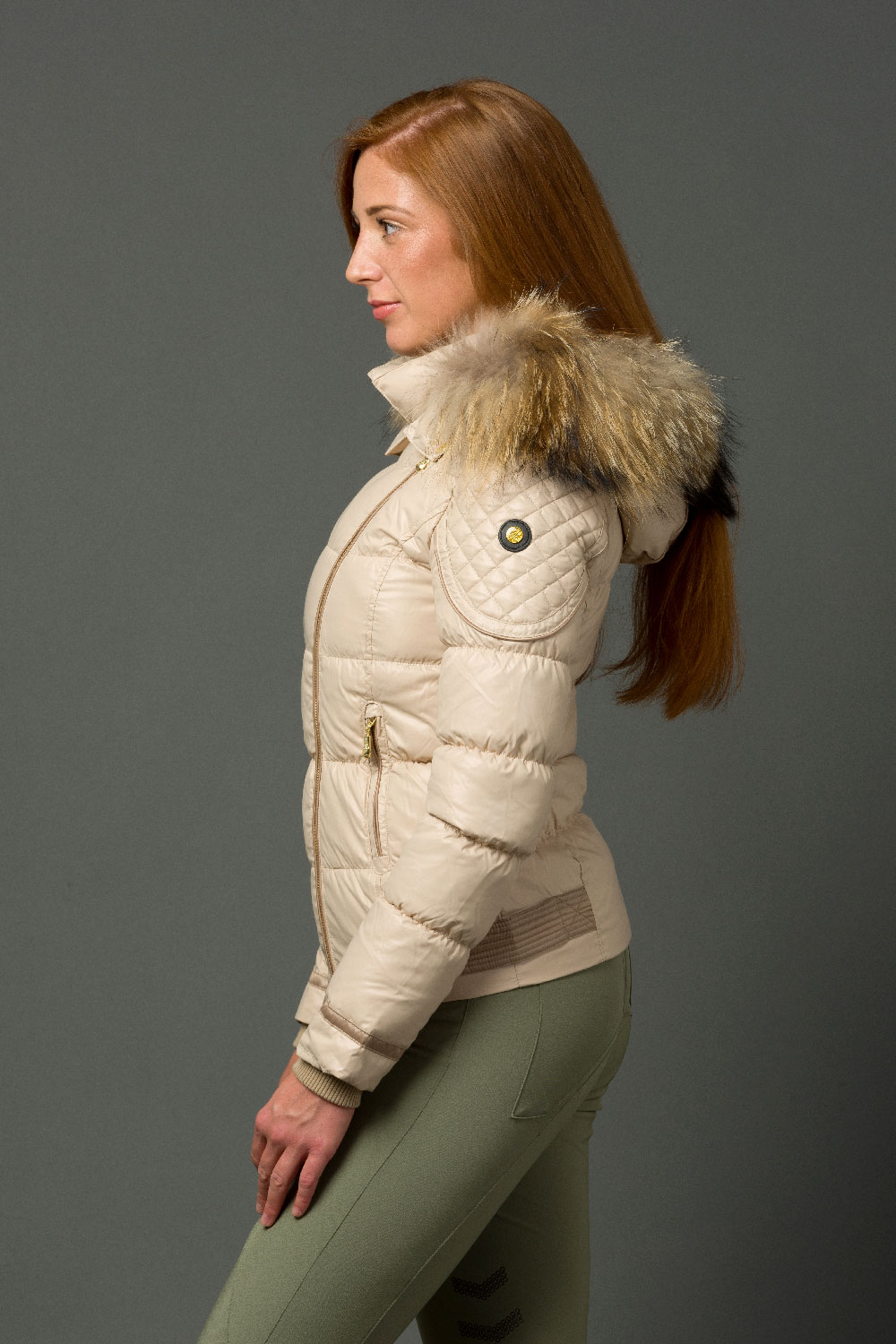 The Geovana Coat - Champagne