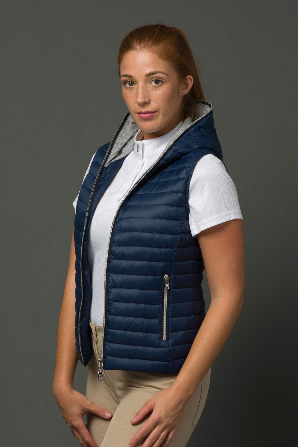 The Lulu Gilet - Navy