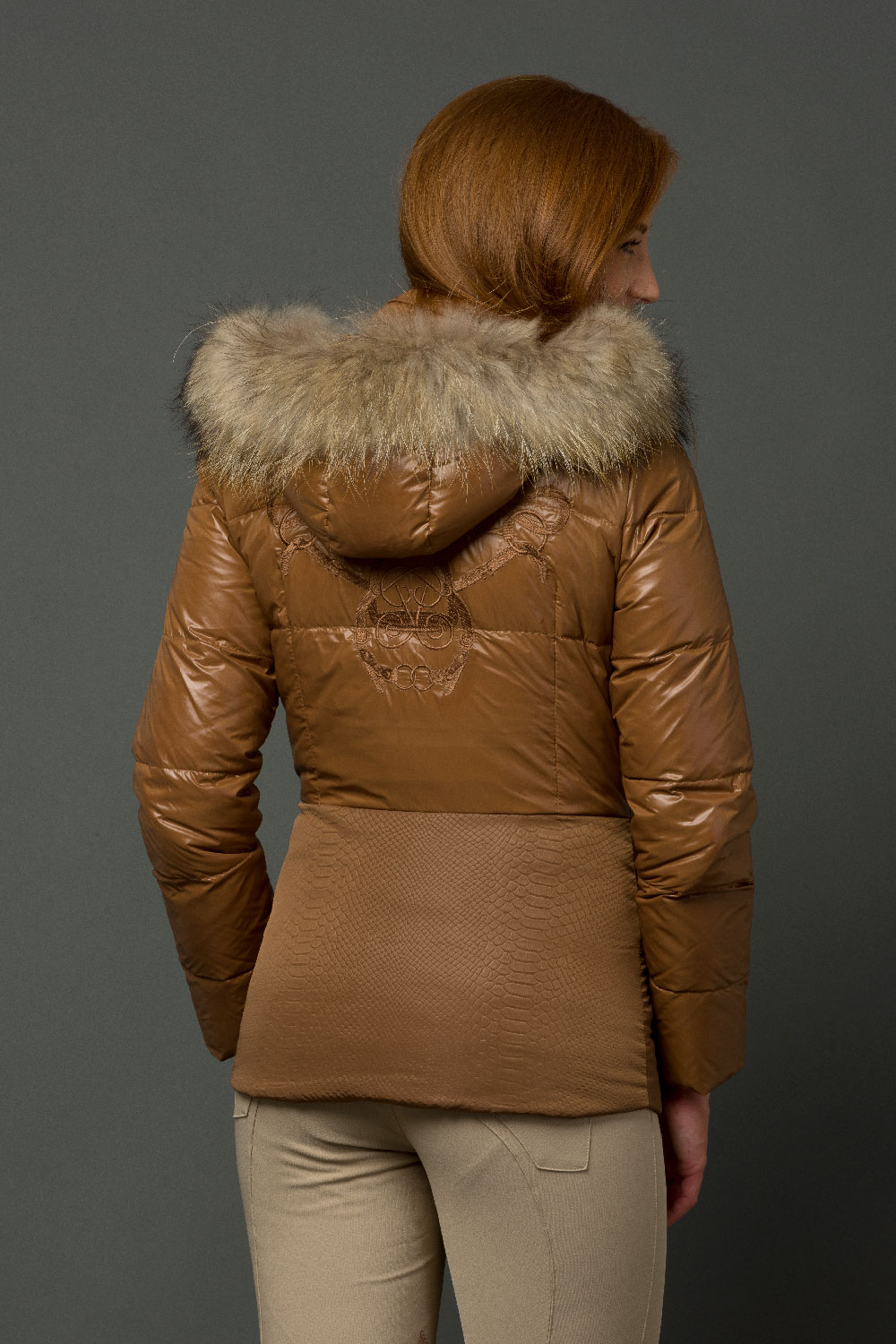The Lucie Jacket - Copper
