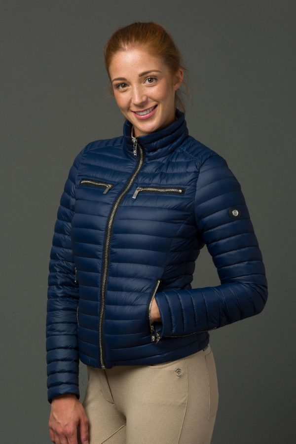 The Lulu Jacket - Navy