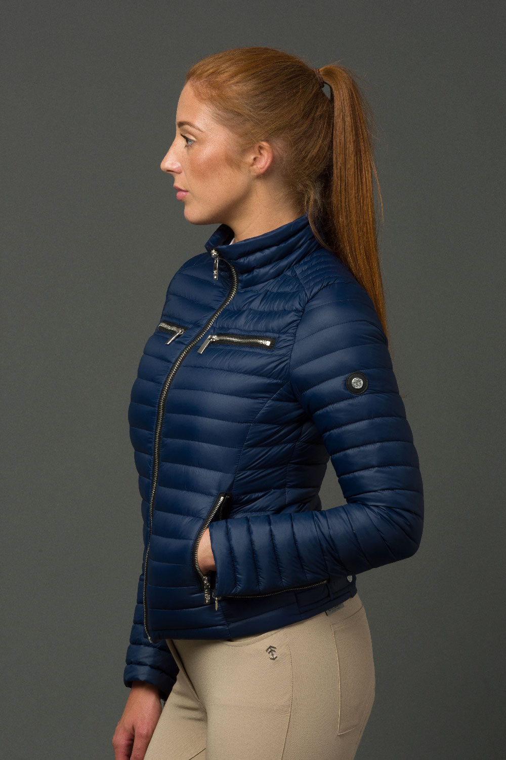 The Lulu Jacket - Navy