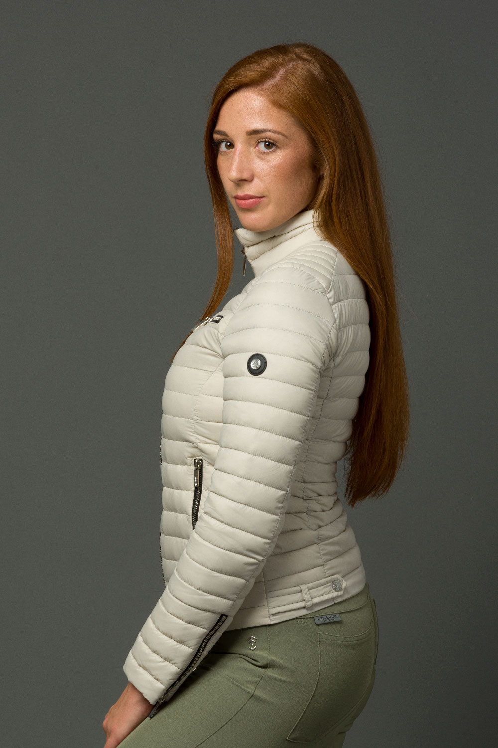 The Lulu Jacket - Silver