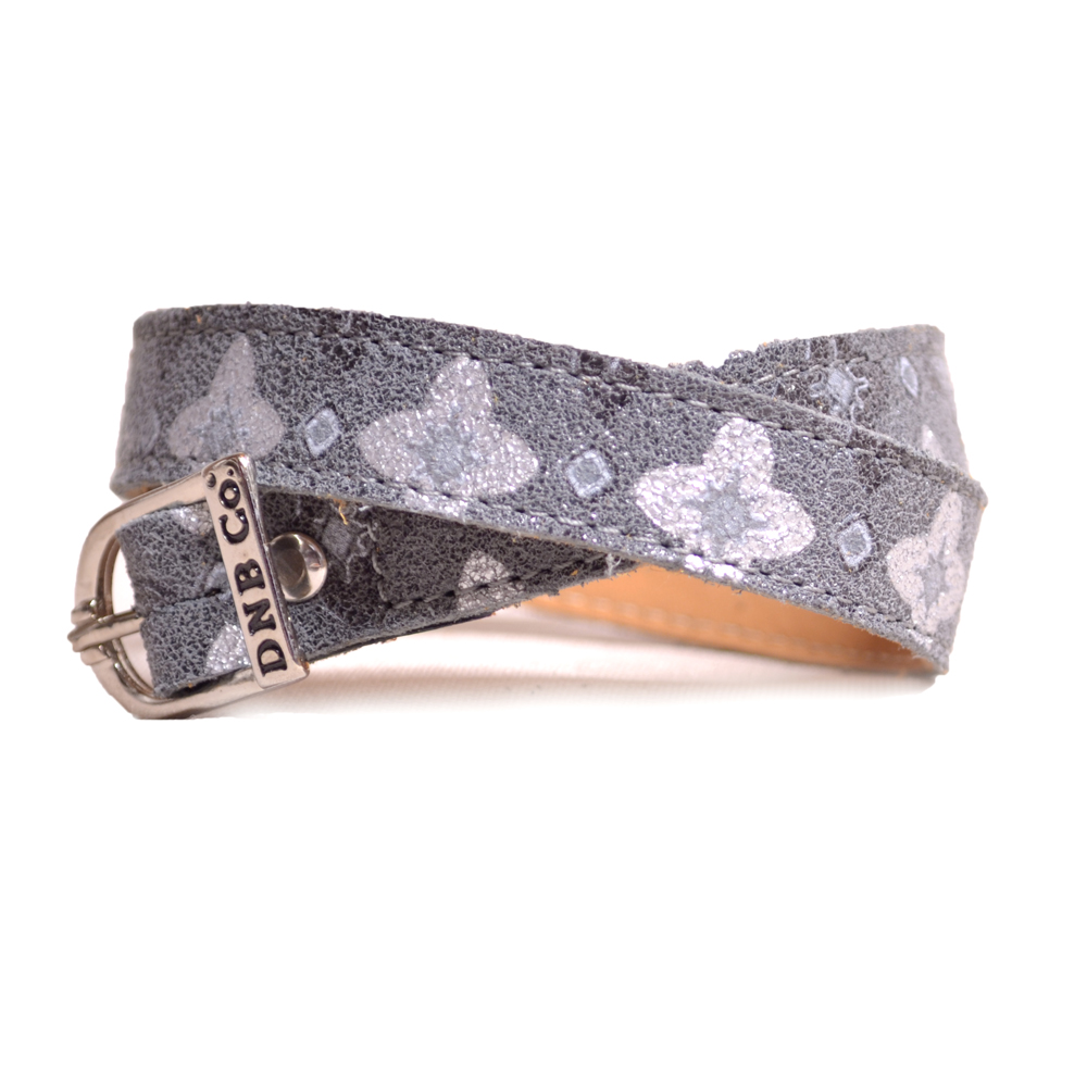 DeNiro Fortuna Grey Spur Straps
