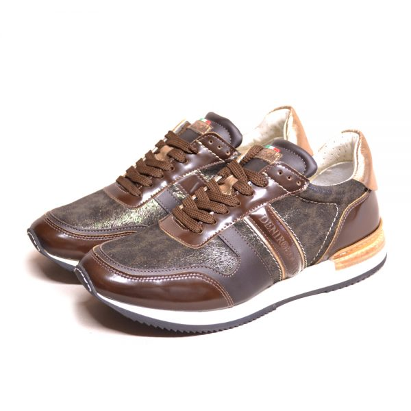 DeNiro Vice Versa Sneaker Brushed Brown Infinito